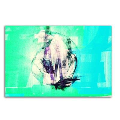 PaulSinusArt Enigma Abstrakt 037 Painting Print on Canvas