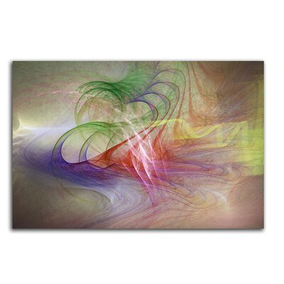 PaulSinusArt Enigma Abstrakt 040 Painting Print on Canvas