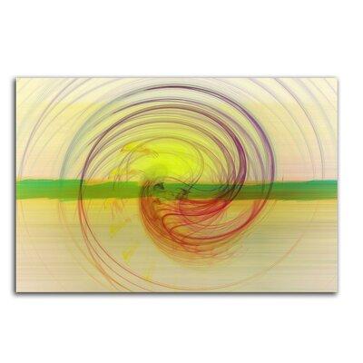 PaulSinusArt Enigma Abstrakt 043 Painting Print on Canvas