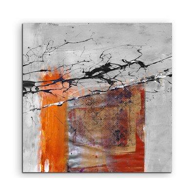 PaulSinusArt Enigma Abstrakt 505 Painting Print on Canvas