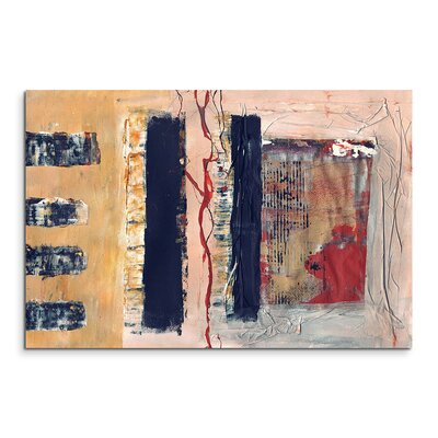 PaulSinusArt Enigma Abstrakt 550 Painting Print on Canvas
