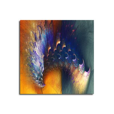 PaulSinusArt Enigma Abstrakt 304 Painting Print on Canvas