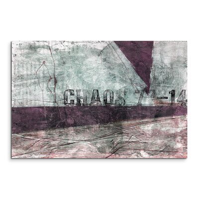 PaulSinusArt Enigma Abstrakt 564 Painting Print on Canvas