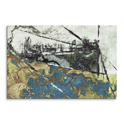 PaulSinusArt Enigma Abstrakt 566 Painting Print on Canvas