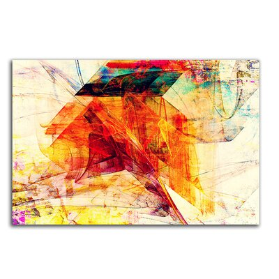 PaulSinusArt Enigma Abstrakt 257 Painting Print on Canvas