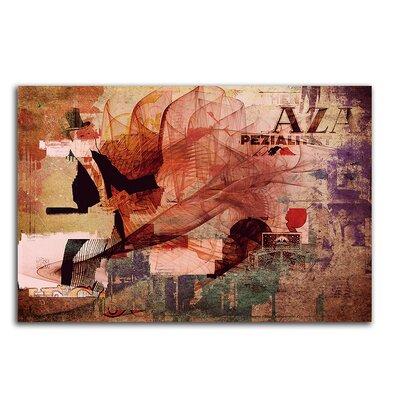 PaulSinusArt Enigma Abstrakt 259 Painting Print on Canvas