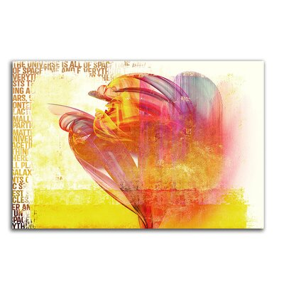 PaulSinusArt Enigma Abstrakt 263 Painting Print on Canvas