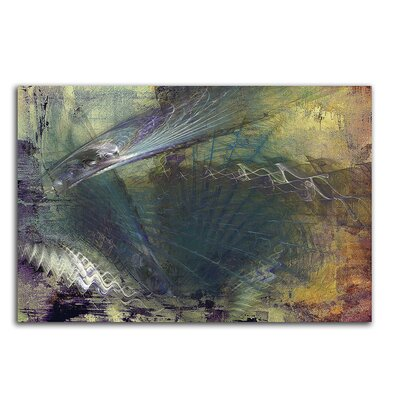 PaulSinusArt Enigma Abstrakt 444 Painting Print on Canvas