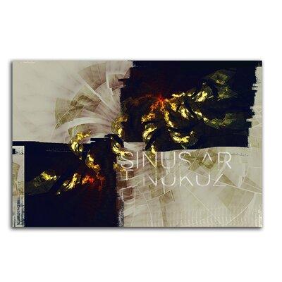 PaulSinusArt Enigma Abstrakt 445 Painting Print on Canvas