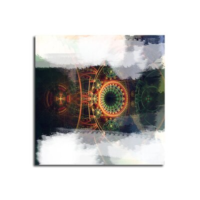 PaulSinusArt Enigma Abstrakt 484 Painting Print on Canvas