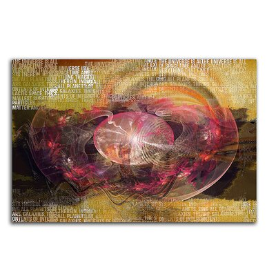 PaulSinusArt Enigma Abstrakt 451 Painting Print on Canvas