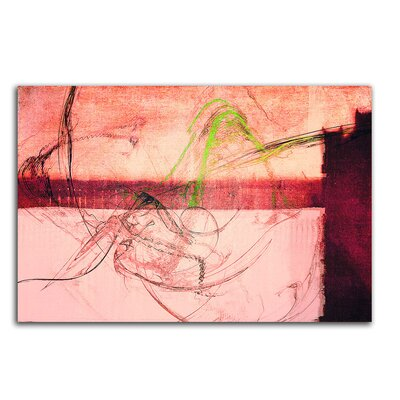 PaulSinusArt Enigma Abstrakt 453 Painting Print on Canvas