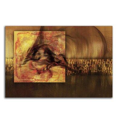 PaulSinusArt Enigma Abstrakt 455 Painting Print on Canvas