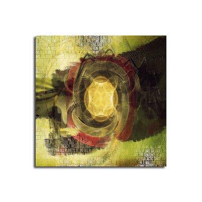 PaulSinusArt Enigma Abstrakt 494 Painting Print on Canvas