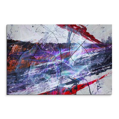 PaulSinusArt Enigma Abstrakt 1245 Painting Print on Canvas
