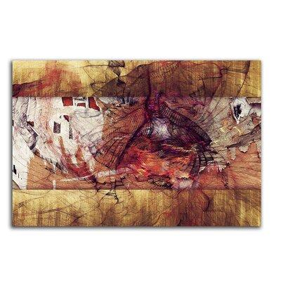PaulSinusArt Enigma Abstrakt 456 Painting Print on Canvas