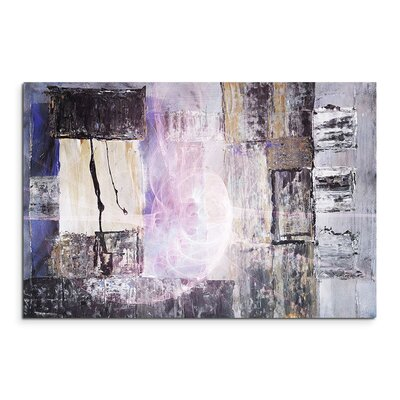 PaulSinusArt Enigma Abstrakt 1252 Painting Print on Canvas