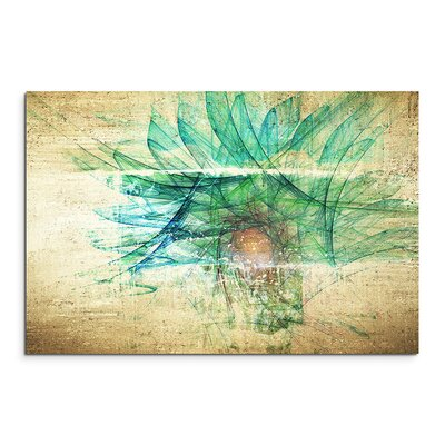 PaulSinusArt Enigma Abstrakt 1208 Painting Print on Canvas