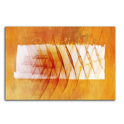 PaulSinusArt Enigma Abstrakt 082 Painting Print on Canvas
