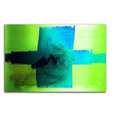 PaulSinusArt Enigma Abstrakt 088 Painting Print on Canvas