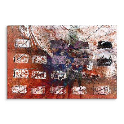 PaulSinusArt Enigma Abstrakt 1451 Painting Print on Canvas