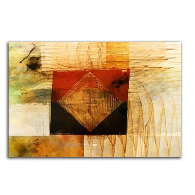 PaulSinusArt Enigma Abstrakt 093 Painting Print on Canvas