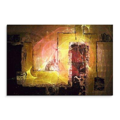 PaulSinusArt Enigma Abstrakt 1396 Painting Print on Canvas