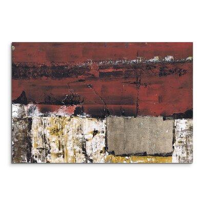 PaulSinusArt Enigma Abstrakt 600 Painting Print on Canvas