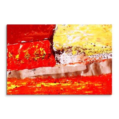 PaulSinusArt Enigma Abstrakt 671 Painting Print on Canvas