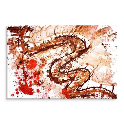 PaulSinusArt Enigma Abstrakt 610 Painting Print on Canvas