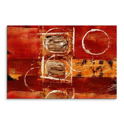 PaulSinusArt Enigma Abstrakt 683 Painting Print on Canvas