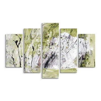 PaulSinusArt Enigma Abstrakt 567 Painting Print on Canvas Set