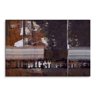 PaulSinusArt Enigma Abstrakt 880 Painting Print on Canvas