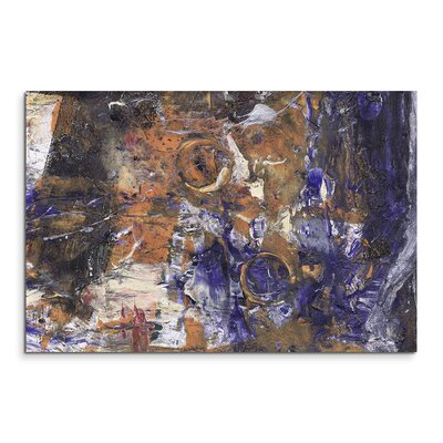 PaulSinusArt Enigma Abstrakt 899 Painting Print on Canvas
