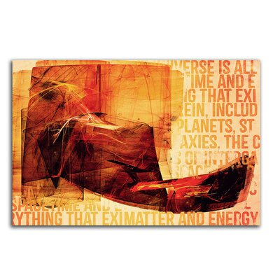 PaulSinusArt Enigma Abstrakt 214 Painting Print on Canvas