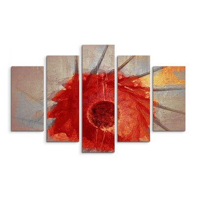 PaulSinusArt Enigma Abstrakt 779 Painting Print on Canvas Set