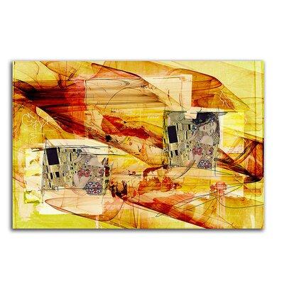 PaulSinusArt Enigma Abstrakt 293 Painting Print on Canvas