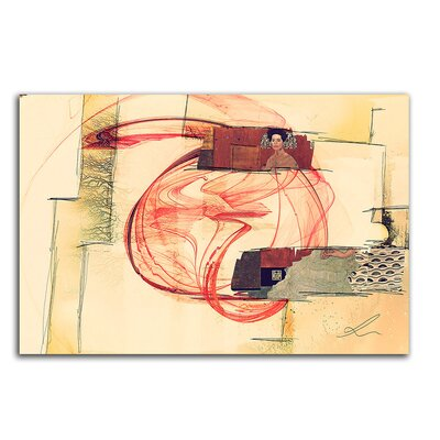 PaulSinusArt Enigma Abstrakt 295 Painting Print on Canvas