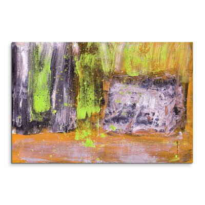 PaulSinusArt Enigma Abstrakt 902 Painting Print on Canvas