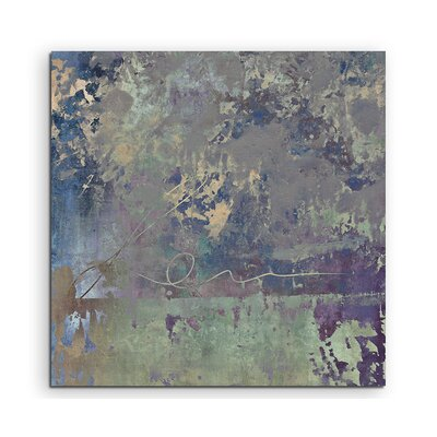 PaulSinusArt Enigma Abstrakt 987 Painting Print on Canvas