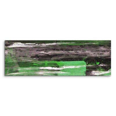 PaulSinusArt Enigma Panorama Abstrakt 932 Painting Print on Canvas