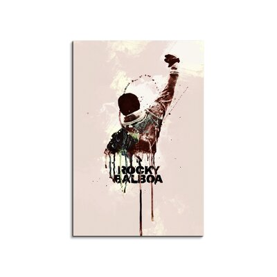 PaulSinusArt Enigma Rocky Painting Print on Canvas
