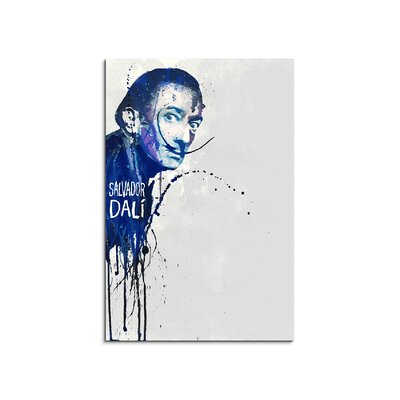 PaulSinusArt Enigma Salvador Dalí Painting Print on Canvas