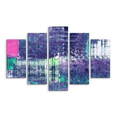 PaulSinusArt Enigma Abstrakt 972 Painting Print on Canvas Set