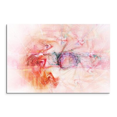 PaulSinusArt Enigma Abstrakt 1210 Painting Print on Canvas