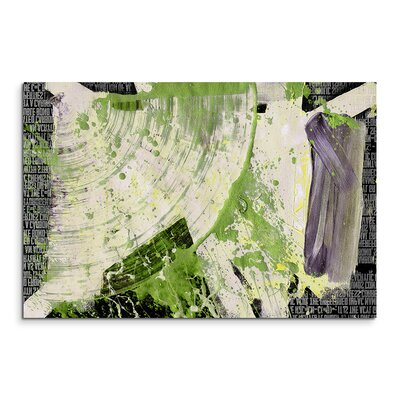 PaulSinusArt Enigma Abstrakt 587 Painting Print on Canvas