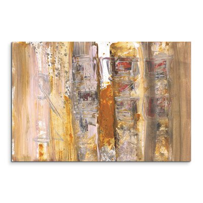 PaulSinusArt Enigma Abstrakt 591 Painting Print on Canvas