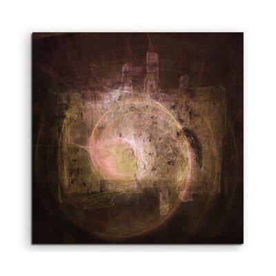 PaulSinusArt Enigma Abstrakt 1486 Painting Print on Canvas