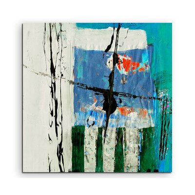 PaulSinusArt Enigma Abstrakt 573 Painting Print on Canvas