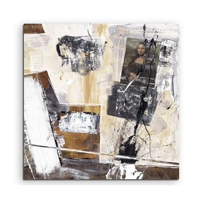 PaulSinusArt Enigma Abstrakt 575 Painting Print on Canvas